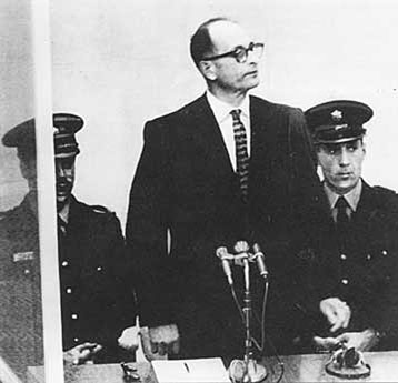 a biography of adolf eichmann a german nazi lieutenant and one of holocausts organizers Who were heinrich himmler and adolf eichmann please give their title and job in the nazi government follow.
